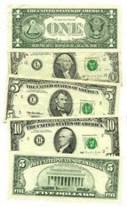 Image Credit: US Government Currency [Public Domain], via Wikimedia Commons