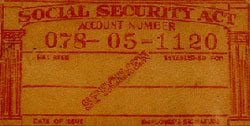 Photo:  Social Security Administration [Public Domain]