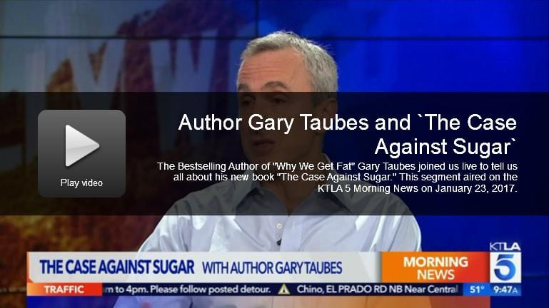 Gary Taubes Interview